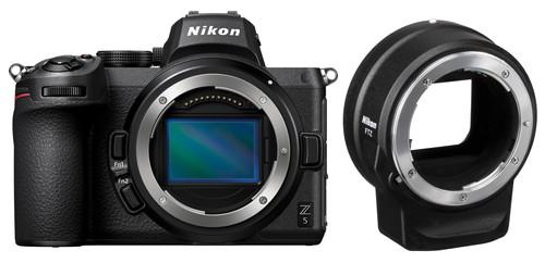 Nikon Z5 Body + FTZ Adapter Main Image