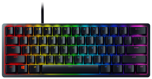 Razer Huntsman Mini Gaming Toetsenbord (Optisch Rood) Zwart QWERTY Main Image