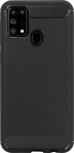 Just in Case Rugged TPU Samsung Galaxy M31 Back Cover Black Main Image