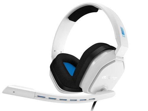 Astro A10 Gaming Headset for PC, PS5, PS4, Xbox Series X/S, Xbox One - White/Blue Main Image