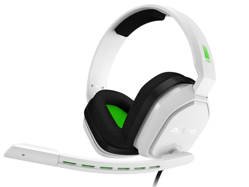 Astro A10 Gaming Headset for PC, PS5, PS4, Xbox Series X/S, Xbox One - White/Green Main Image