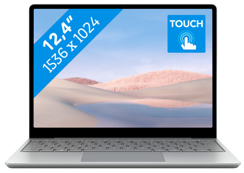Microsoft Surface Laptop Go - i5 - 8GB - 256GB Platinum Main Image