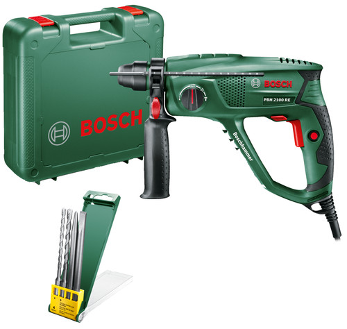 Bosch PBH 2100 RE + drill and chisel set Main Image