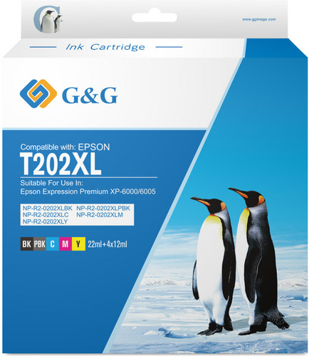 G&G 202XL Cartridges Combo Pack Main Image