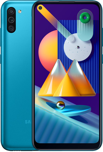 Samsung Galaxy M11 32GB Blauw Main Image