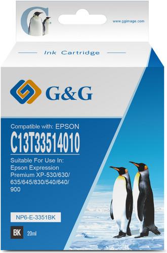 G&G 33XL Cartridges Black Main Image