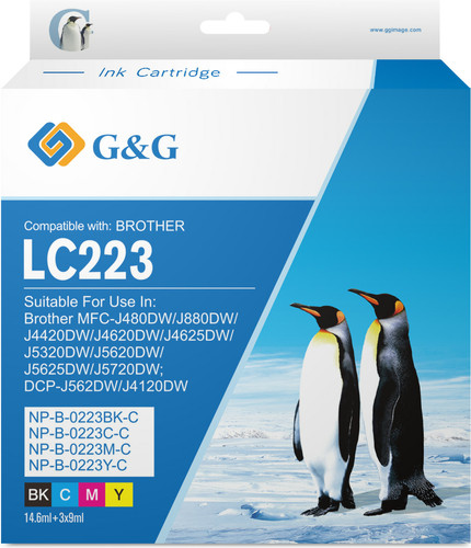 G&G LC-223 Cartridges Combo Pack Main Image
