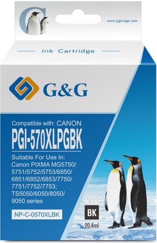 G&G PGI-570XL Cartridge Zwart Main Image
