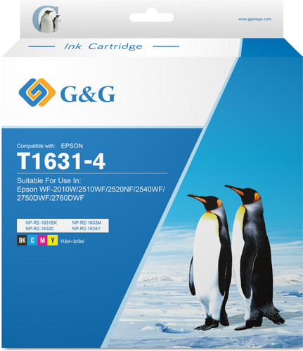 G&G 16XL Cartridges Combo Pack Main Image