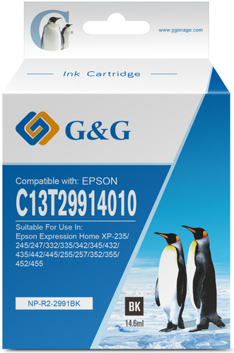 G&G Epson 29XL Black Main Image