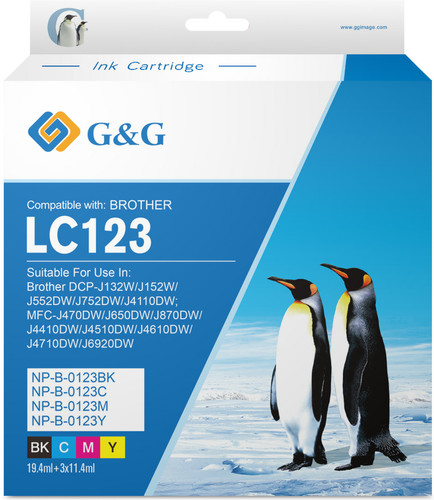 G&G LC-123 Cartridges Combo Pack Main Image