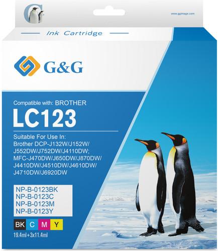 G&G LC-123 Cartridge Zwart Main Image
