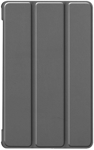 Just in Case Smart Tri-Fold Lenovo Tab M8 FHD Book Case Grijs Main Image