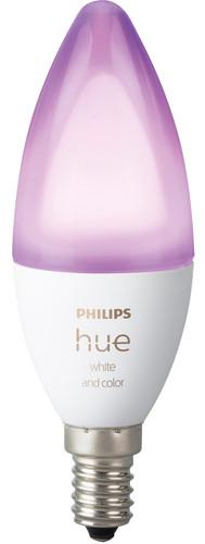 Philips Hue White & Color E14 Bluetooth Single Bulb Main Image