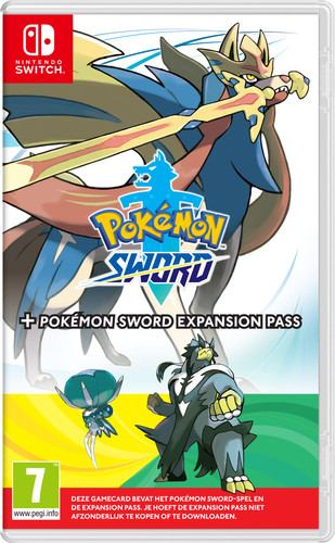 Pokemon Sword + Expansion Pass Main Image