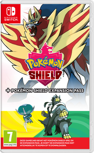 Pokemon Shield + Expansion Pass Main Image