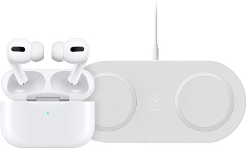 Apple AirPods Pro + Dual Wireless Charger Main Image