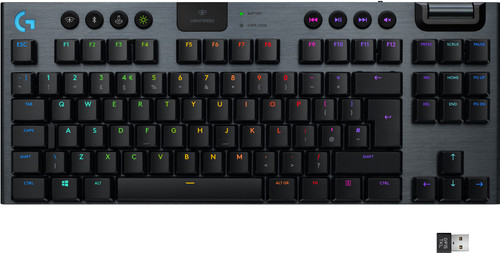 Logitech G915 TKL Tenkeyless Lightspeed Wireless RGB Mechanical Gaming Keyboard QWERTY Main Image