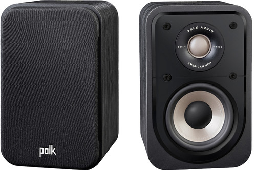Polk Audio Signature S10E Zwart (per paar) Main Image