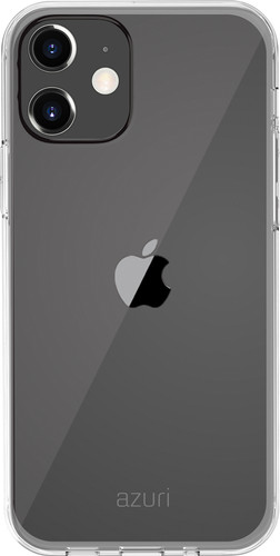 Azuri TPU Apple iPhone 12 mini Back Cover Transparant Main Image