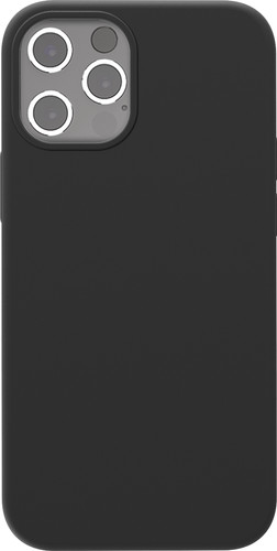 Azuri Back Cover Apple iPhone 12 Pro Max Siliconen Back Cover Zwart Main Image