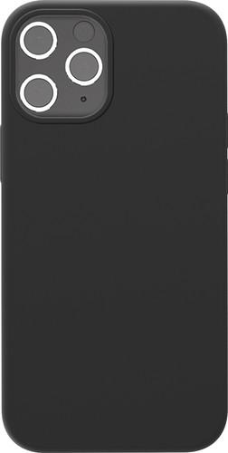 Azuri Back Cover Apple iPhone 12 / 12 Pro Siliconen Back Cover Zwart Main Image