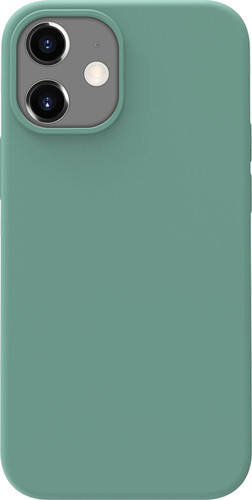 Azuri Back Cover iPhone 12 mini Siliconen Back Cover Groen Main Image