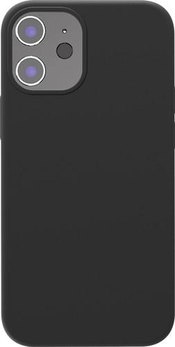 Azuri Back Cover iPhone 12 mini Siliconen Back Cover Zwart Main Image