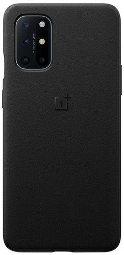 OnePlus 8T Sandstone Back Cover Black Main Image
