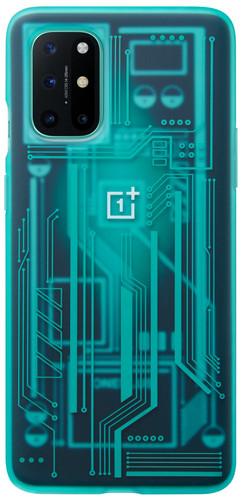 OnePlus 8T Quantum Back Cover Blauw Main Image