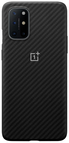 OnePlus 8T Karbon Back Cover Black Main Image