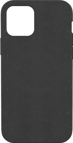 Pela Eco Friendly Apple iPhone 12 / 12 Pro Back Cover Zwart Main Image