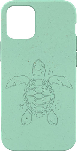 Pela Eco Friendly Apple iPhone 12 mini Back Cover Blauw (Turtle Edition) Main Image
