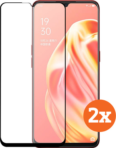 Azuri Tempered Glass OPPO A91 Screenprotector Duo Pack Main Image