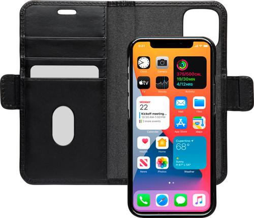 DBramante1928 Lynge Apple iPhone 12 mini Book Case Leer Zwart Main Image