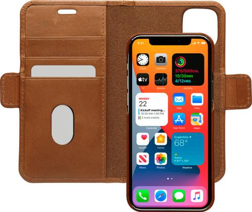 DBramante1928 Lynge Apple iPhone 12 mini Book Case Leer Bruin Main Image