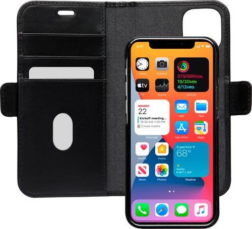 DBramante1928 Lynge Apple iPhone 12 / 12 Pro Book Case Leer Zwart Main Image