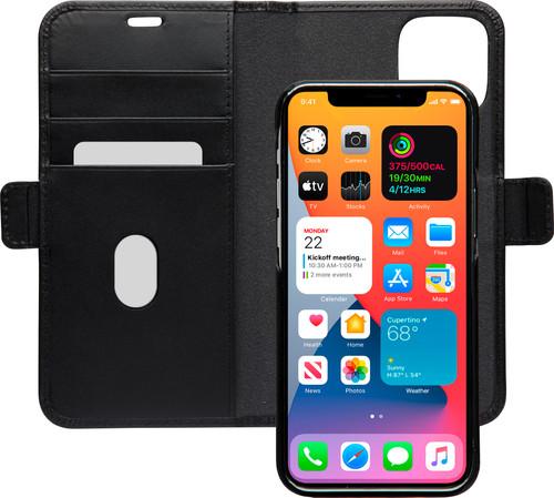 Dbramante1928 Lynge Apple iPhone 12 Pro Max Book Case Leather Black Main Image