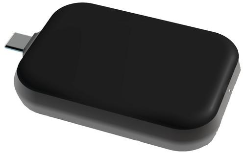 Zens Usb C Stick AirPods Draadloze Oplader 5W Zwart Main Image