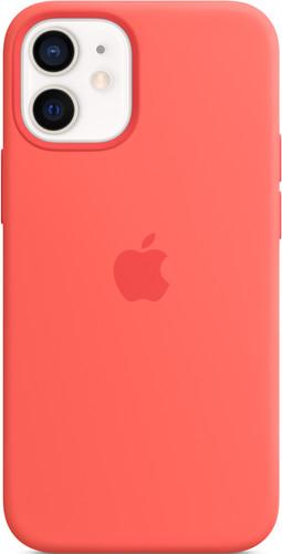 Apple iPhone 12 mini Back Cover met MagSafe Citrusroze Main Image