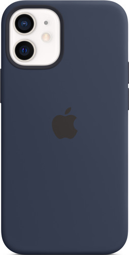 Apple iPhone 12 mini Back Cover met MagSafe Donkermarineblauw Main Image
