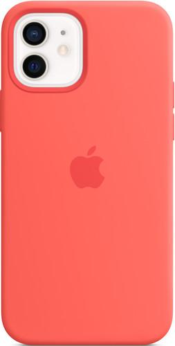 Apple iPhone 12 / 12 Pro Back Cover met MagSafe Citrusroze Main Image