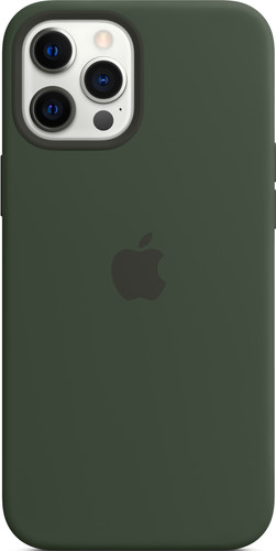 Apple iPhone 12 Pro Max Back Cover met MagSafe Cyprusgroen Main Image
