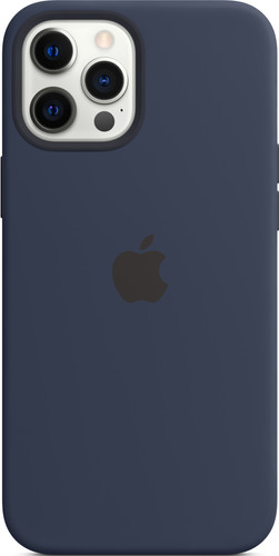 Apple iPhone 12 Pro Max Back Cover met MagSafe Donkermarineblauw Main Image