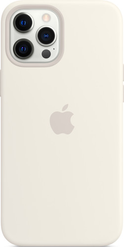 Apple iPhone 12 Pro Max Back Cover met MagSafe Wit Main Image