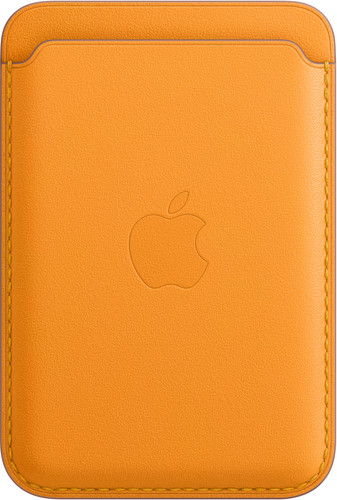 Apple Leather Wallet for iPhone with MagSafe California Poppy Main Image