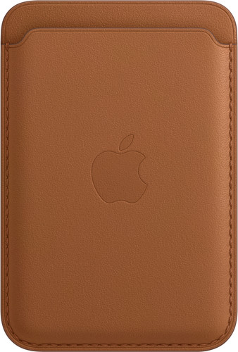 Apple Leather Wallet for iPhone with MagSafe Saddle Brown Main Image