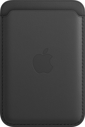 Apple Leather Wallet for iPhone with MagSafe Black Main Image