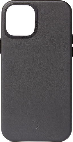 Decoded Apple iPhone 12 mini  Back Cover Leer Zwart Main Image