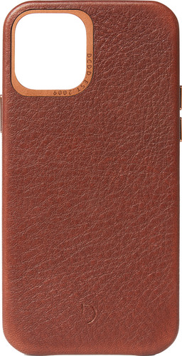 Decoded Apple iPhone 12 Mini Back Cover Leather Brown Main Image
